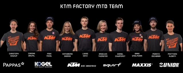 Neue Struktur und Fahrerzugänge für das KTM Factory MTB Team