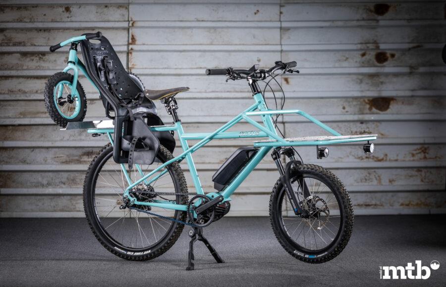 PORTUS CYCLES Compact E-Cargo Karl